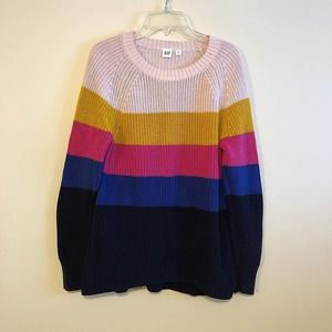 GAP Colorblock Sweater S